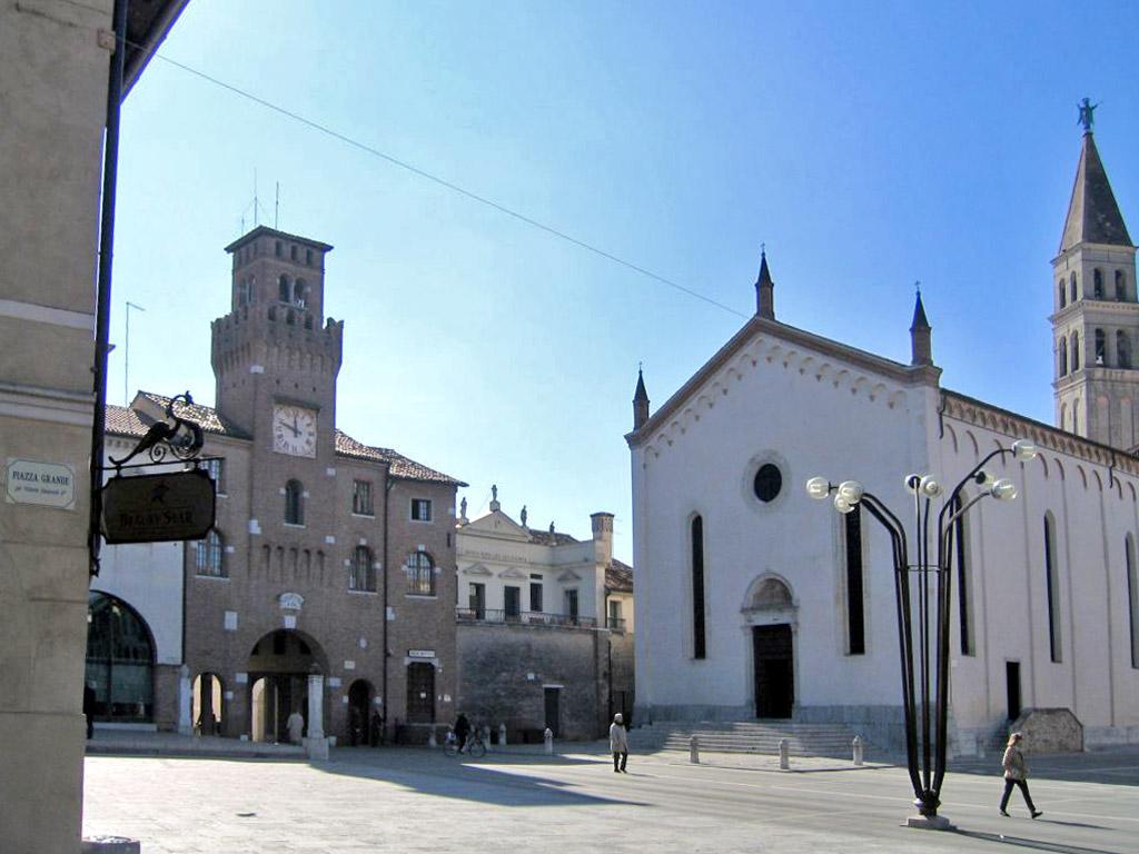 Oderzo - piazza Grande